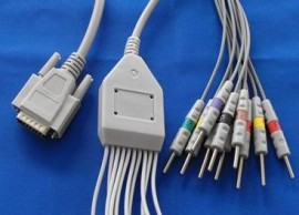 Nihon Kohden EKG cable