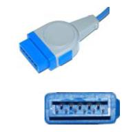 GE-marqutte spo2 sensor adult soft tip