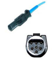 Novametrix spo2 sensor pediatric soft tip